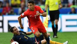 2017年俄罗斯联合会杯 智利1-1险平澳大利亚夺第2晋级