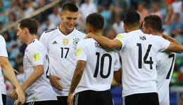 2017年俄罗斯联合会杯 德国3-1喀麦隆晋级
