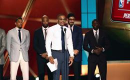 2016-17赛季NBA颁奖典礼 新科MVP威少泪晒现场