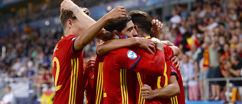 欧青赛西班牙3-1意大利图集 多纳鲁马崩溃掩面