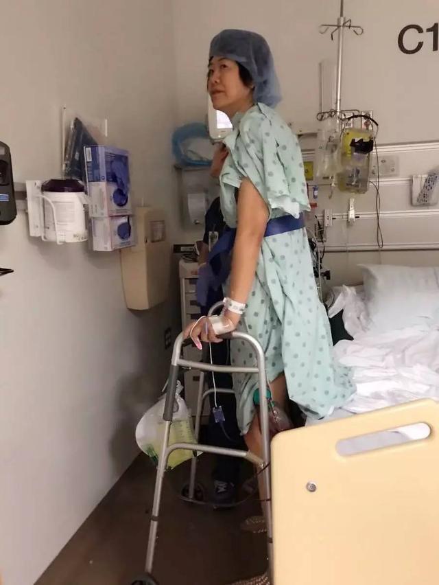 郎平髋关节手术顺利 女儿:你脖子以下都不好