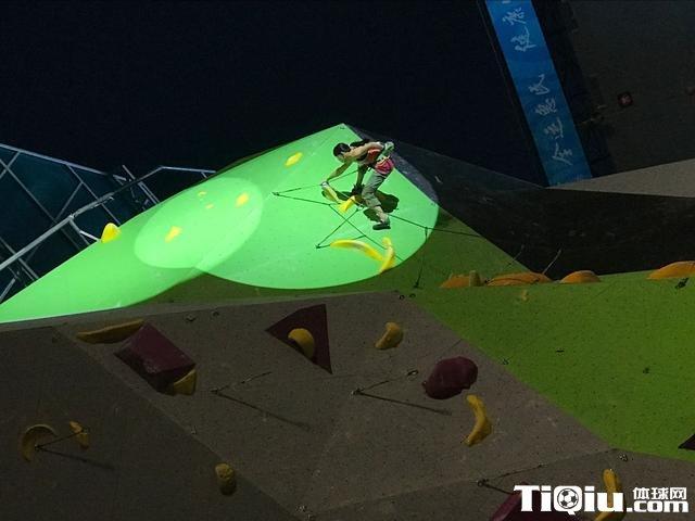 攀岩登上全运会大舞台 跨界跨项选手表现出彩