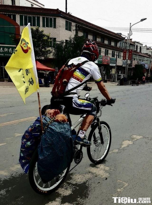 器官移植患者骑行万里 历时16天从甘肃到北京