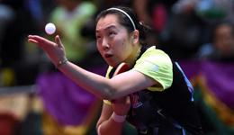 2017天津全运会李晓霞复出 丁宁李晓霞争夺女单冠军