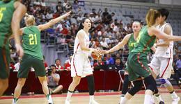 四国赛女篮大胜立陶宛 李梦15+5+4女篮两连胜