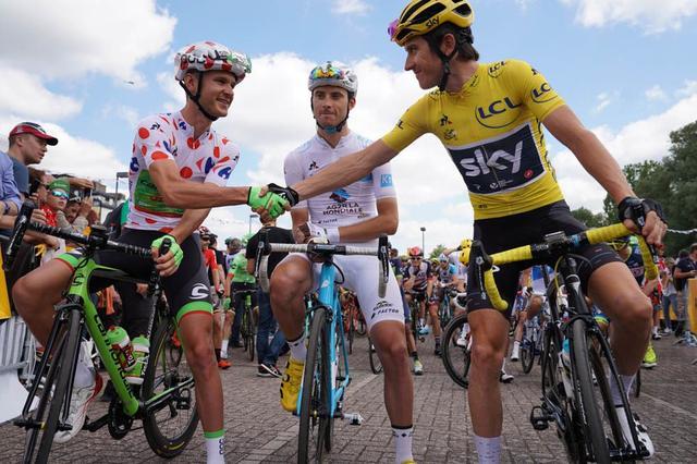 环法第四赛段 法国车手德玛尔首夺单站冠军