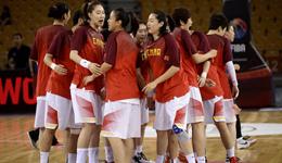对抗赛女篮26分大胜白俄罗斯 篮板碾压女篮收获四连胜