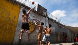 平民打野球搞笑图片 爆笑体育户外篮球搞笑达人