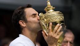 温网决赛费德勒大胜西里奇 费德勒斩获第十九个大满贯
