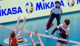 世界女排大奖赛中国女排 中国女排3-2复仇美国女排