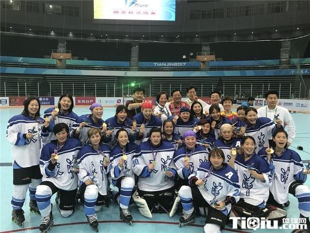全运会轮滑冰球比赛落幕 天津队夺女子组桂冠