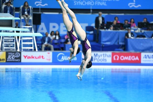 世锦赛女双3米板施廷懋组合摘金 中国取9连冠