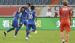 2017足协杯马丁斯2球 申花客场3-1鲁能