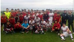圣保罗U19梯队30-0包头队 打破28球赢黑龙江纪录