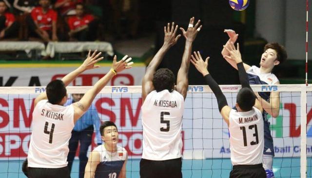 男排亚锦赛中国不敌澳大利亚 2胜1负小组第二