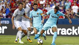2017国际冠军杯 内马尔破门巴萨1-0曼联
