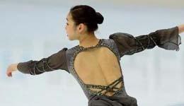 韩国花样滑冰金妍儿失误图片 花滑�逄�搞笑高清照片