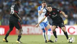 2017欧联资格赛 米兰1-0罗马劲旅开门红
