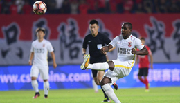 2017中超联赛第19轮 辽足1-0亚泰终结7连败