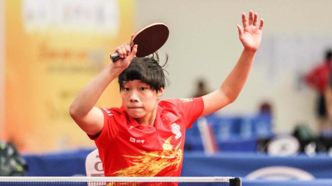 青少年乒乓球公开赛香港站 中国队男单种子徐东海出赛