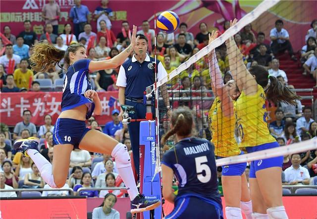 巴西女排3-1意大利成功卫冕 第12次登顶大奖赛