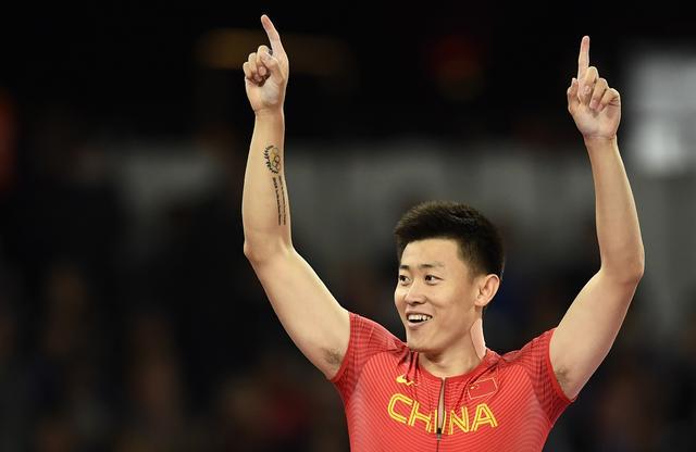 世锦赛-撑竿跳薛长锐5米82获第4 破全国纪录