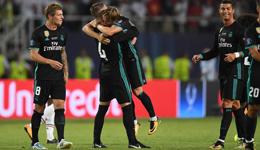 2017欧洲超级杯 皇马2-1曼联夺冠