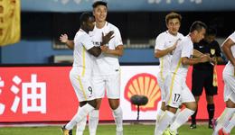 2017赛季中超联赛第21轮 建业0-2亚泰4轮不胜