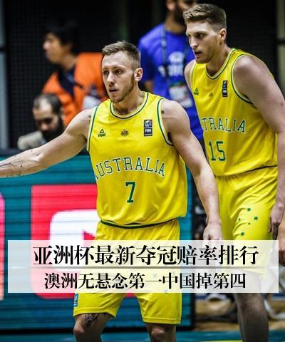 亚洲杯最新夺冠赔率排行 澳洲无悬念第一中国掉第四