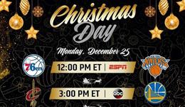 NBA公布下季圣诞大战赛程 总决赛再上演骑士战金州