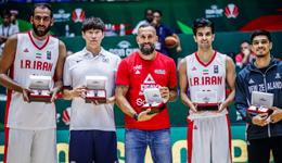 男篮亚洲杯最佳阵容无中国球员 哈达迪当选MVP