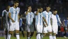 梅西无功苏牙再次伤退 阿根廷0-0仍排第5