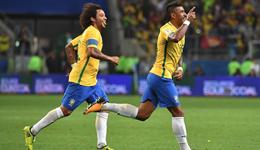 保利尼奥库蒂尼奥破门 巴西2-0厄瓜多尔