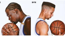 库里奇葩发型照吓坏球迷 理发暴露发际线比詹姆斯惨