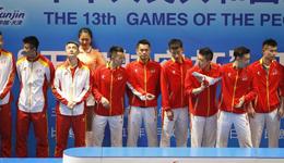全运羽球男团林丹领衔北京登顶 谌龙赢球输冠军