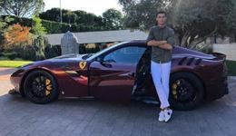 C罗晒个人最贵新座驾 限量款法拉利售价35万镑