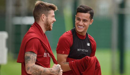 库蒂尼奥回归利物浦训练 本周他仍不会登场