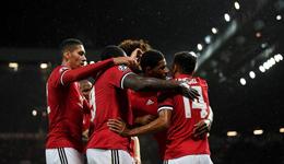 2017欧冠曼联3-0巴塞尔 博格巴伤退费莱尼卢卡库破门
