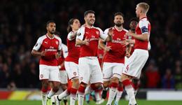 欧联阿森纳3-1胜科隆 桑切斯世界波贝莱林进球