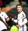 欧联米兰5-1胜维也纳 恰球王2传1射席尔瓦戴帽