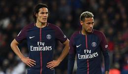 巴黎主席下令卡瓦尼是头号点球手 内马尔暂时靠边