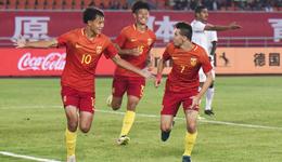 刘若钒传射叶尔凡建功 U19国青队2-1阿曼