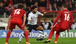 2017欧冠库蒂尼奥破门 利物浦客场1-1莫斯科斯巴达