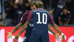内马尔传射卡瓦尼阿尔维斯破门 欧冠巴黎3-0拜仁