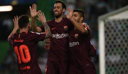 梅西里程碑对手送乌龙 欧冠巴萨1-0里斯本竞技