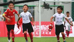 梅西式进球+C罗式庆祝 8岁中国足球小将称我就不传