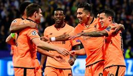 欧冠张伯伦首球萨拉赫传射 利物浦客场7-0狂胜
