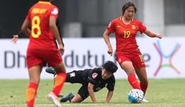 U19亚青赛刘婧破门 中国女足2-0泰国