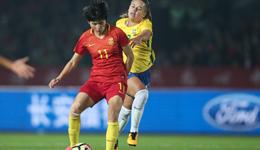 永川赛王珊珊2球 中国女足2球落后2-2巴西列第3