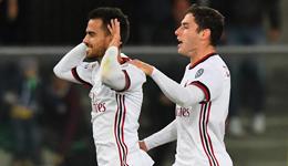 苏索1射2传恰球王联赛首球 意甲-米兰4-1胜切沃